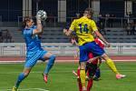 S domácími diváky se třetiligoví fotbalisté Písku rozloučili výhrou nad Chrudimí.