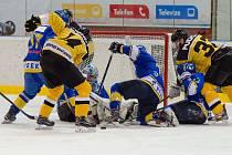 IHC Písek - HC Moravské Budějovice 2005 3:4sn (1:2, 0:1, 2:0 - 0:0)