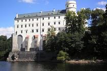Zámek Orlík. Ilustrační foto