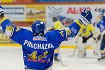 Písečtí hokejisté snížili stav série s Kobrou na 1:2.