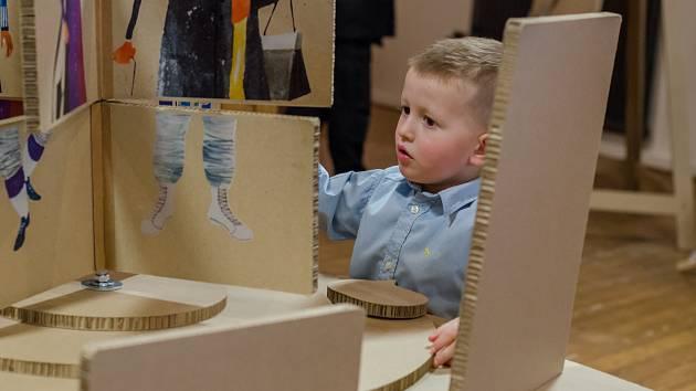 Sladovna otevřela kreativní Laboratoř a výstavu Svět podle Šaška.