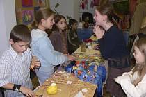 Tvůrčí dílny jsou pravidelnou součástí akcí v Základní škole Svobodná v Písku.