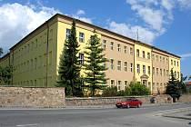 Opravená budova Střední zemědělské školy v Písku.
