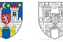 Jedna z možných variant nového znaku města Písku.