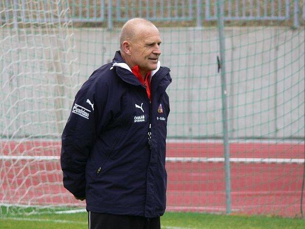 Fotbalový trenér Jaroslav Hřebík.