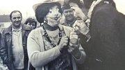 Masopust ve Skalách v 80. letech.