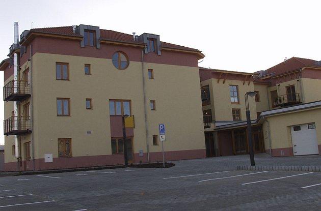 Budova domu s pečovatelskou službou v Milevsku