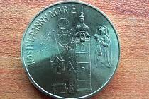 Pamětní mince píseckých městských slavností 2009.