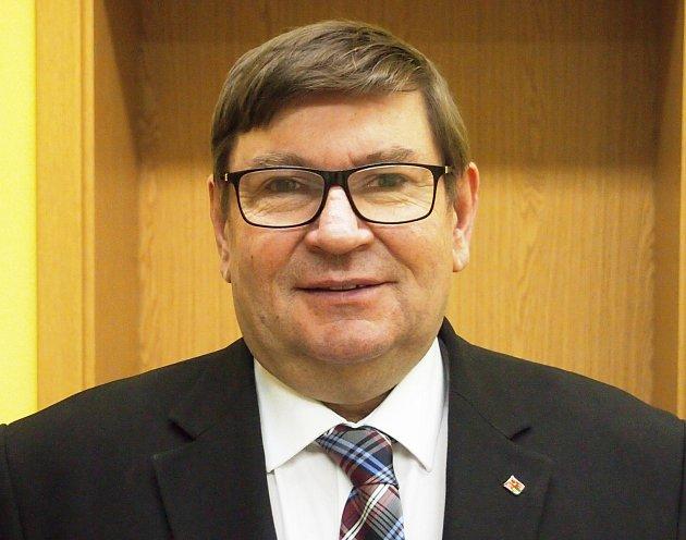 Pavel Hroch, náměstek hejtmanky Jihočeského kraje, starosta Kovářova