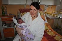 Prvním jihočeským miminkem roku 2016 je Terezka Tomšovicová z Protivína.