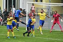ČFL: FC Písek - Domažlice 1:3 (0:1).