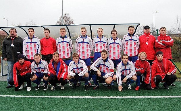 PŘEZIMUJÍ PRVNÍ.  Fotbalisté FC Písek B jsou po podzimu na čele skupiny C krajské I. B třídy.