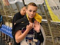 SPOJKA Michaela Pešková svému týmu citelně chyběla.