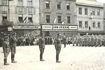 Osvobození Písku v květnu 1945.