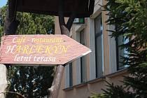 Kavárna Harlekýn - ilustrační foto.