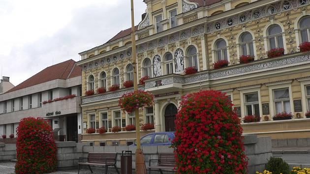 Radnice v Milevsku.