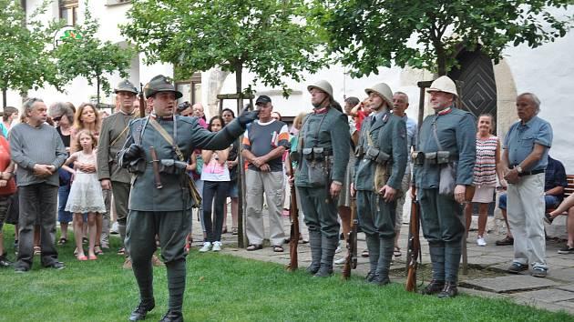 Muzejní noc s legionáři  v Prácheňském muzeu v Písku