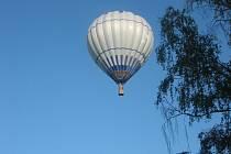 Balón nad Chyškami v roce 2011.