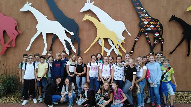 Benešovka v Safari Parku.