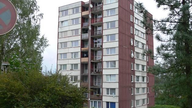 Dům v Nádražní ulici.
