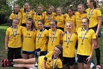 Písecké starší žačky vybojovaly první místo na 8. ročníku Vršovice Handball Cup.