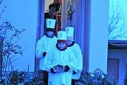 Kovářovem obcházeli Tři králové z Kovářovánku.