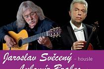 Lubomír Brabec a Jaroslav Svěcený vystoupí v Písku.