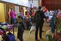 Dětská burza spojená s bleším trhem v Milevsku.