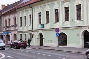 Milevsko. Nejstarší budova na milevském náměstí s čp.1. Ilustrační foto