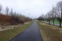 Nová cyklostezka bude pro cestu do průmyslové zóny nejen pohodlnější, ale především bezpečnější.