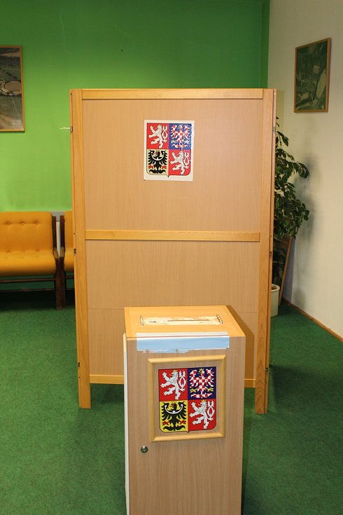 Volby v Kestřanech.