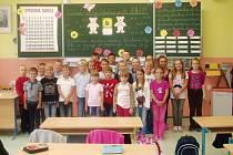 Začátek školy v 3.A na ZŠ Protivín.