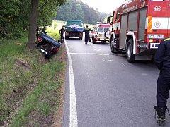 Nehoda u Chrastin
