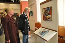 Výstava Jiřího Meitnera v písecké  Portyči