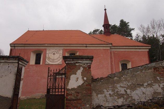 Kostel sv. Bartoloměje.
