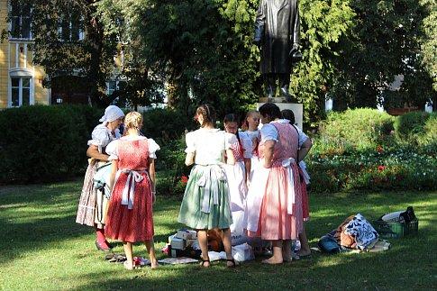 XXIV. Mezinárodní folklorní festival je v plném proudu.