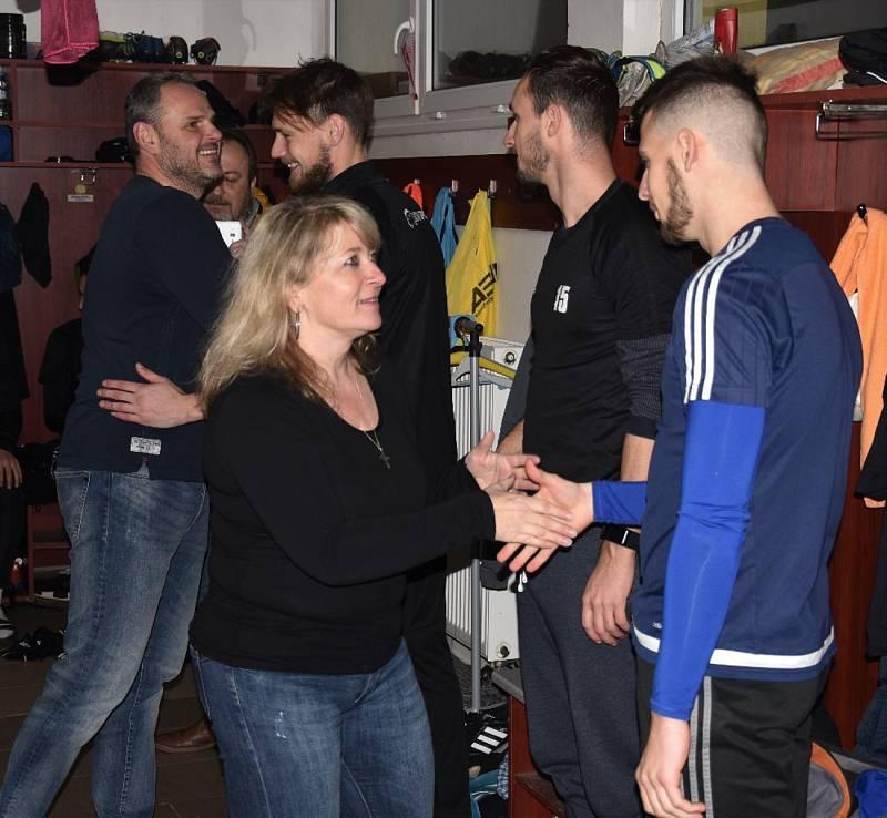 Zahájení zimní přípravy A-týmu FC Písek.