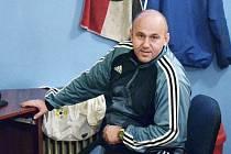 TRENÉR. Rezervu fotbalového Písku vede Jaroslav Kostka.