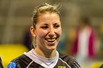 Nicola Palasová nastoupila v dresu Sokola Písek proti svému mateřskému klubu.