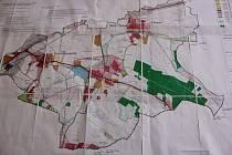Návrh nového územního plánu obce Dolní Novosedly.