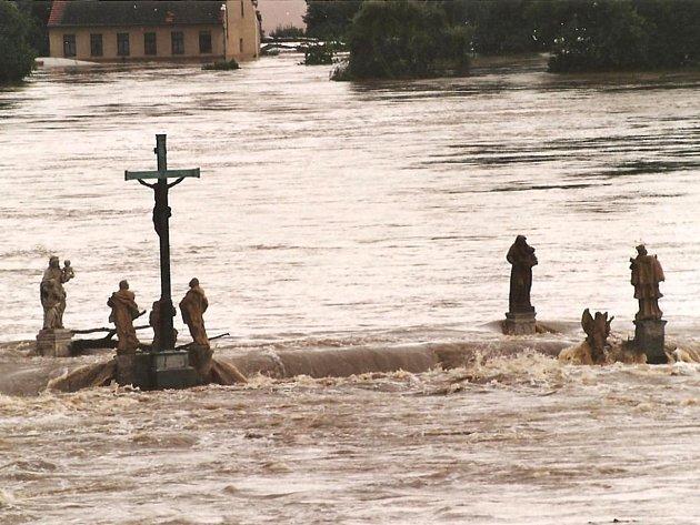 Povodně 2002na Písecku.