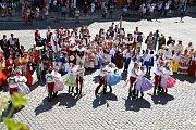 Mezinárodní folklorní festival v Písku.