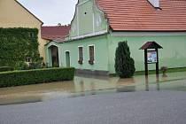 Povodně 2013, neděle 2. června, Protivín