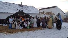 Živý betlém v Selibově.