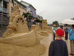 Cipískoviště 2009 - zahájení turistické sezony v Písku, vernisáž soch.