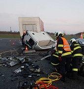 Tragická nehoda u Drhovle.