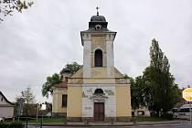 Čimelický kostel.