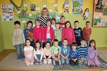 1. třída v ZŠ Mikoláše Alše v Miroticích