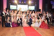 Maturitní ples třídy 4.A Gymnázia Písek.