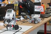 Soutěž robotů. Ilustrační foto